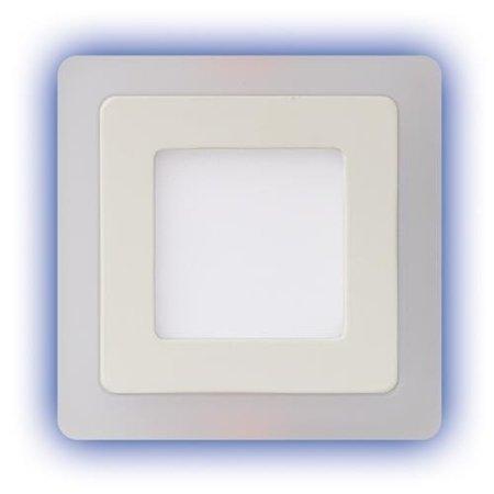 Alina LED D 3+3W 4000K svítidlo led s modrým prstenem Struhm
