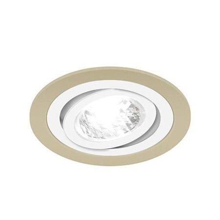Bodové Stropní svítidlo BORYS C, kulatá, 1 x GU10, béžová/bílá, 3226, Struhm