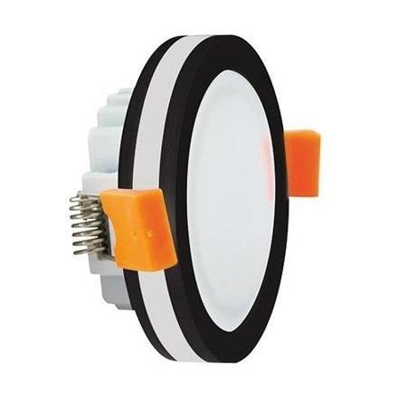 Bodové Stropní svítidlo GOTI LED C, 5W, 4000K, černá, kulatá, 3199, Struhm