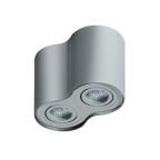 Dvojité nástěnné svítidlo Bross 2 šedá Azzardo GM4200