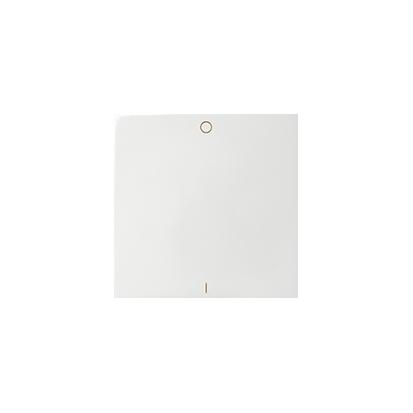 Jednotná klávesa 0-1 pro vypínače, bílý Kontakt Simon 82 82031-30