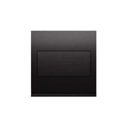 Kontakt Simon 54 Premium Antracit Clona rámečku bez můstku - upevnění pouze na západku DP/48