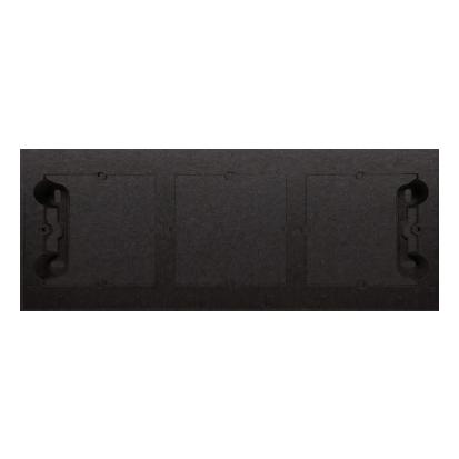 Kontakt Simon 54 Premium Antracit Krabice nástěnná ,krytka 3-násobná , DPN3/48