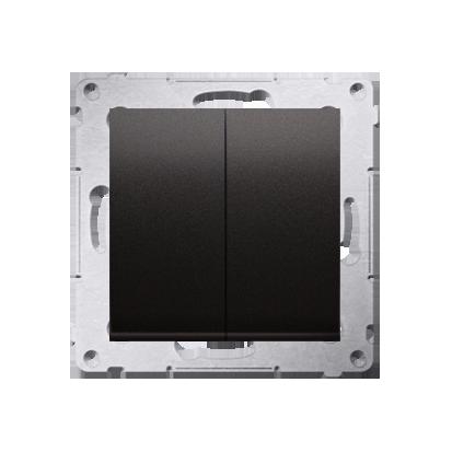 Kontakt Simon 54 Premium Antracit Přepínač sériový pro verzi IP44 DW5B.01/48
