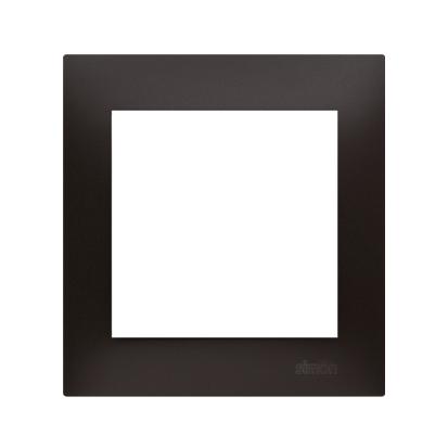 Kontakt Simon 54 Premium Antracit Rámeček 1-násobný univerzální pro sádrokartonové krabice IP20/IP44, DRK1/48
