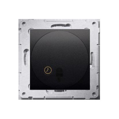Kontakt Simon 54 Premium Antracit Spínač s opožděným vypnutím s relé. (modul) DWC10P.01/48