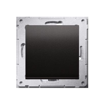 Kontakt Simon 54 Premium Antracit Tlačítko jednopólové zkratovací bez piktogramu rychlospojka, DP1.01/48