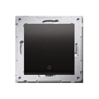 Kontakt Simon 54 Premium Antracit Vypínač dvoupólový X šroubové koncovky, DW2A.01/48