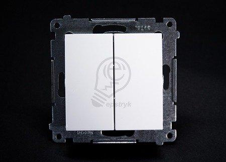 Kontakt Simon 54 Premium Bílý Přepínač sériový (modul) rychlospojka, DW5.01/11