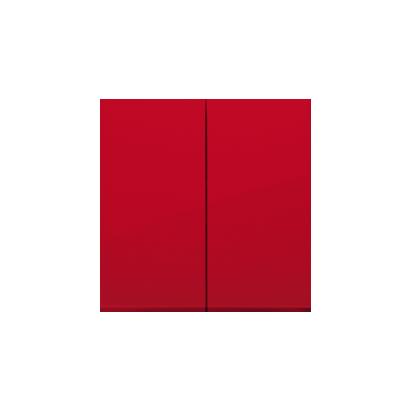 Kontakt Simon 54 Premium Červená Klávesy pro vypínače/Tlačítek dvojnásobných, DKW5/22