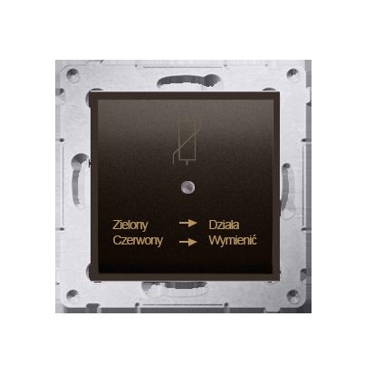 Kontakt Simon 54 Premium Hnědá, matný Protipřepěťové ochranné zařízení (modul), D75420.01/46