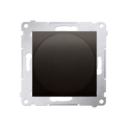 Kontakt Simon 54 Premium Hnědá, matný Světelný signalizátor LED, světlo zelené (modul) DSS3.01/46