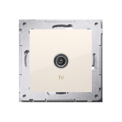 Kontakt Simon 54 Premium Krémová Anténní zásuvka TV jednonásobná (modul) DAK1.01/41