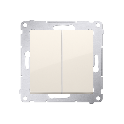 Kontakt Simon 54 Premium Krémová Přepínač sériový pro verzi IP44 DW5B.01/41