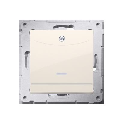 Kontakt Simon 54 Premium Krémová Vypínač hotelový s podsvícením. Jmenovitý proud 10 (2) A . DWH1.01/41