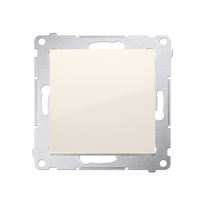 Kontakt Simon 54 Premium Krémová Vypínač jednonásobný (modul) rychlospojka, DW1.01/41