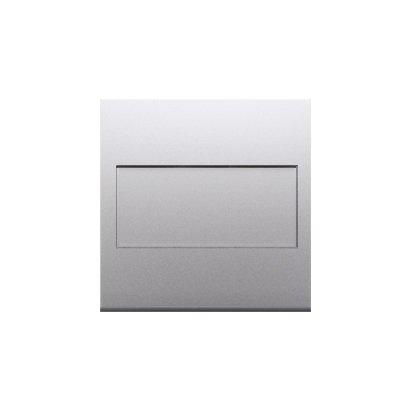 Kontakt Simon 54 Premium Stříbrná Clona rámečku bez můstku - upevnění pouze na západku DP/43