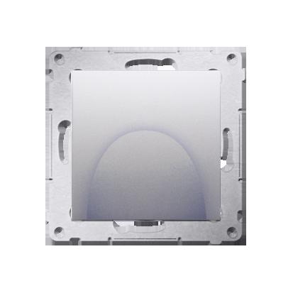 Kontakt Simon 54 Premium Stříbrná Kabelový výstup (modul), DPK1.01/43