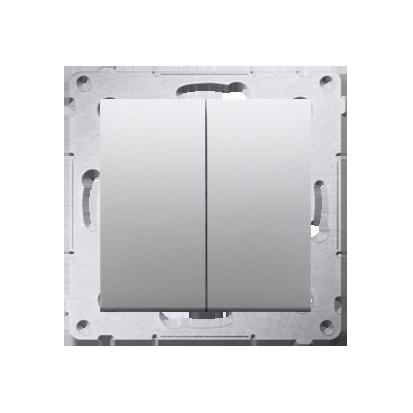 Kontakt Simon 54 Premium Stříbrná Přepínač sériový (modul) X šroubové koncovky, DW5A.01/43