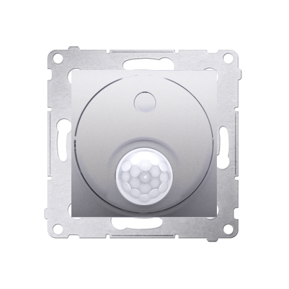Kontakt Simon 54 Premium Stříbrná Vypínač se senzorem pohybu (modul) 20-500 W, DCR10T.01/43