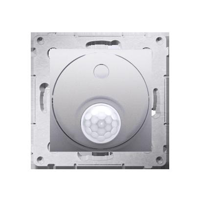 Kontakt Simon 54 Premium Stříbrná Vypínač se senzorem pohybu s relé (modul) DCR10P.01/43