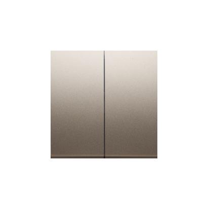 Kontakt Simon 54 Premium Zlatá Klávesy pro vypínače/Tlačítek dvojnásobných, DKW5/44