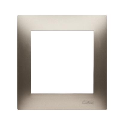 Kontakt Simon 54 Premium Zlatá Rámeček 1-násobný univerzální pro sádrokartonové krabice IP20/IP44, DRK1/44