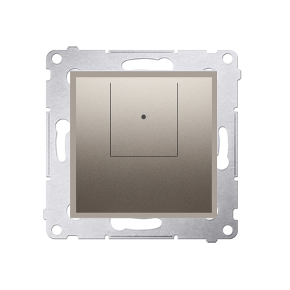 Kontakt Simon 54 Premium Zlatá Stmívač dvou tlačítkový (modul) 40–500 W (300 VA), D75310.01/44