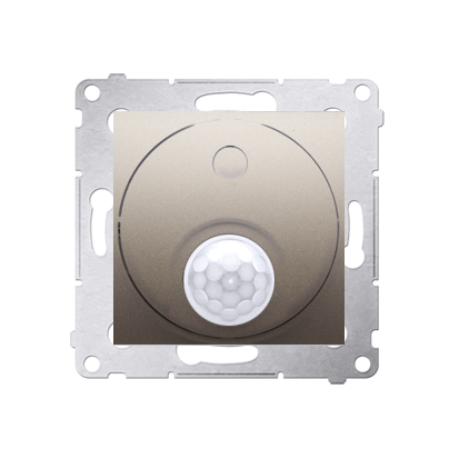 Kontakt Simon 54 Premium Zlatá Vypínač se senzorem pohybu s relé (modul) DCR10P.01/44