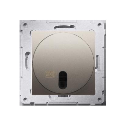 Kontakt Simon 54 Premium Zlatá stmívač tlačítkový a dálkově ovládaný (modul) 20–500 W, DS13T.01/44