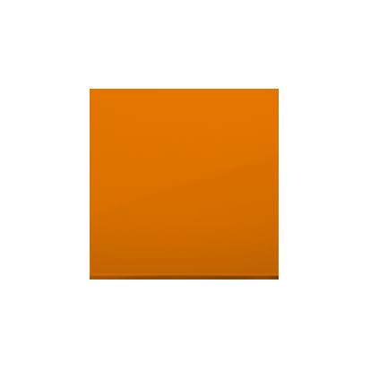 Kontakt Simon 54 Premium oranžová Jednotná klávesa pro vypínače/Tlačítek, DKW1/32