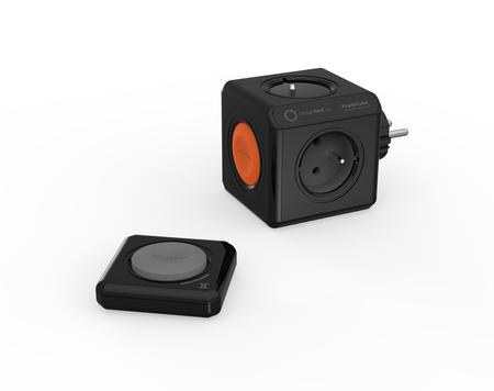 Kostka PowerCube Original Remote + pilot PowerRemote wariant czarny Allocacoc
