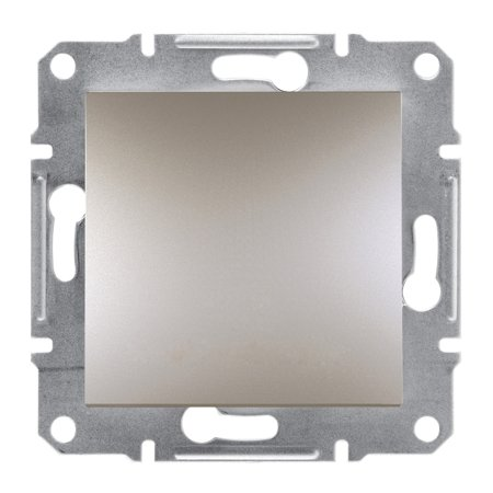 Křížový vypínač šroubové svorky bez rámečku, hnědá Schneider Electric Asfora EPH0500369
