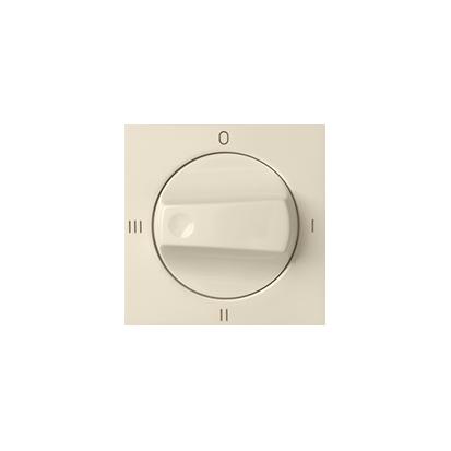 Kryt vypínače otočného (4 béžová Kontakt Simon 82 82079-31