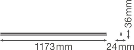 Lineární svítidlo LINEAR COMPACT HIGH OUTPUT 1200 20W 3000K LEDVANCE