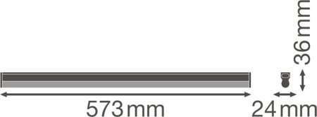 Lineární svítidlo LINEAR COMPACT HIGH OUTPUT 600 10W 3000K LEDVANCE