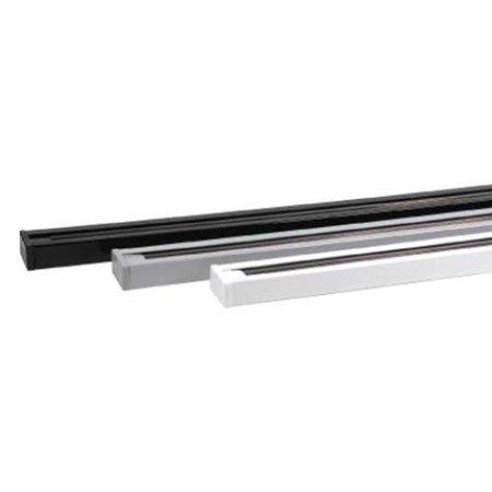 Lišta kolejnice černá 2m Track + napájení a záslepka 02440 Horoz