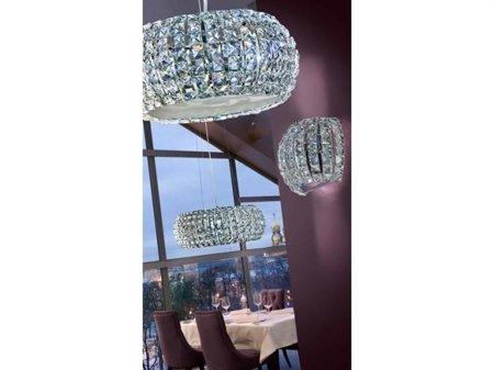 Nástěnná lampa Sophia transparentní Azzardo AZ2520