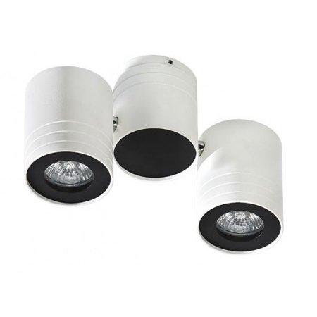 Nástěnná lampa-stropní Lalo 2 bílá černá Azzardo GM4201