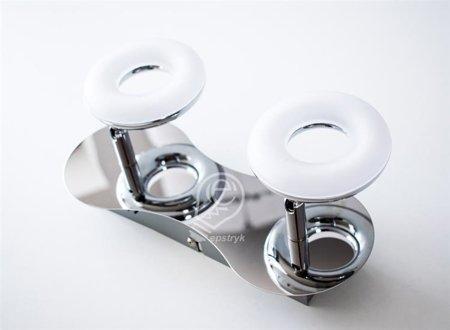 Nástěnné svítidlo LED chrom 2x5W 3000K HL7142L Horoz
