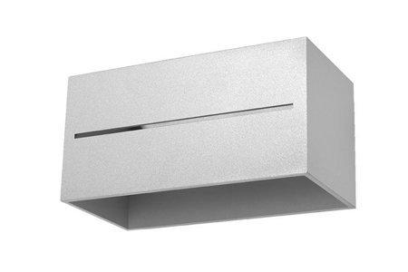 Nástěnné svítidlo LOBO MAXI šedá 2xG9 Sollux SL.0529