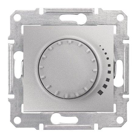 Otočný stmívač hliník RL 60-325VA Sedna SDN2200460 Schneider Electric
