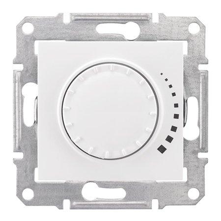 Otočný - tlačítkový stmívač bílá RC 25-325VA Sedna SDN2200721 Schneider Electric