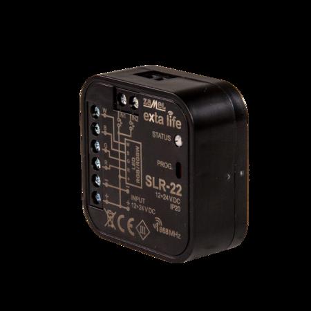 Ovladač LED RGBW 12-24V DC Zamel SLR-22