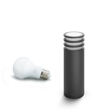 Philips Hue lampa vnější černá Lucca 2700K 1740293P0