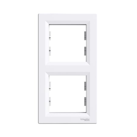Rámeček 2-násobný svislý, bílá Schneider Electric Asfora EPH5810221