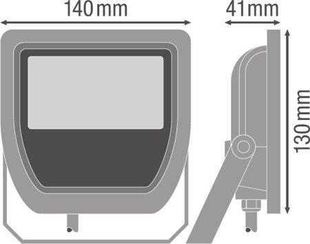 Reflektor FLOODLIGHT 20W 6500K IP65 White LEDVANCE