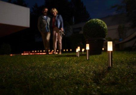 Sada dekorativních venkovních svítidel 4W SMART+ Gardenpole Basic Set Mini Multicolour RGB+W OSRAM