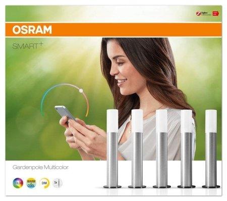 Sada dekorativních venkovních svítidel 8,7W Basic Set SMART+ Gardenpole Multicolour OSRAM