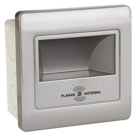 Schodišťové svítidlo se senzorem pohybu DIAMOND LED, 2W, 4000K, srebrna, 3167, Horoz